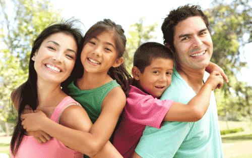 family in the hispanic market