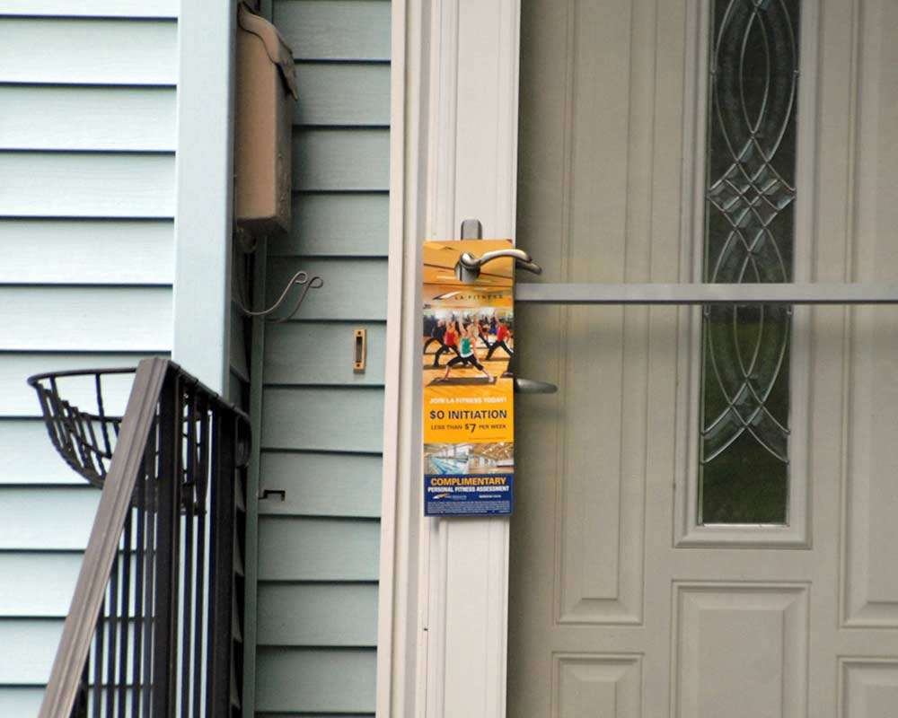 example of targeted front door marketing