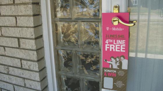 doorhangers are a great use of front-door marketing