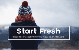 start fresh with new year's marketing strategies