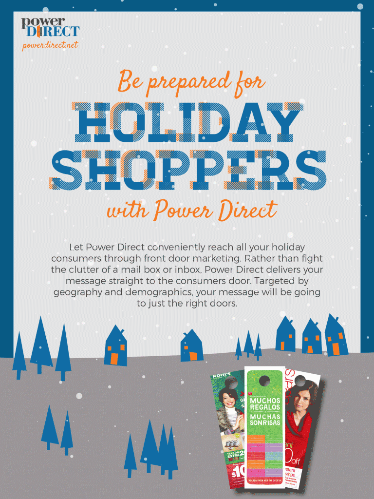holiday email blast