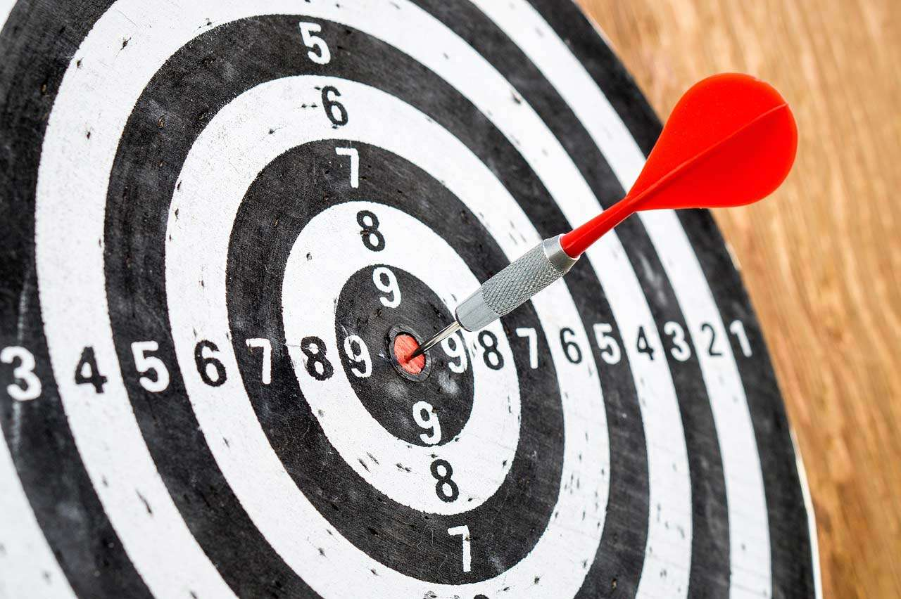 dart on a target representing the audience targeting that power direct can achieve
